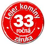 Leier komíny 33 ročná garancia
